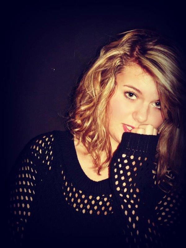 Et voilà, je suis blonde.