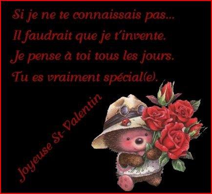 Joyeuse saint-valentin a tous les amoureux ..... !!!!