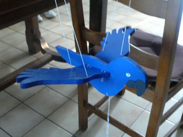 """blue le peroquet de"""" RIO """""""