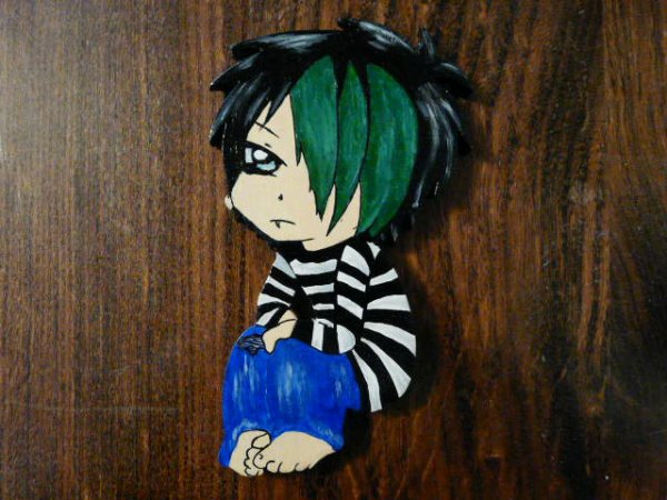 """personnage """"emo"""""""