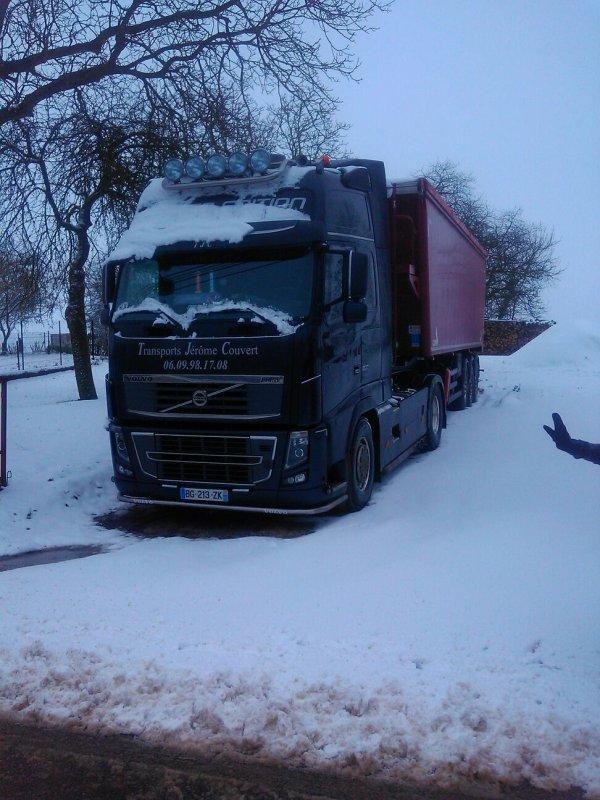 "le ""600"" dans la neige"