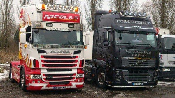 Les plus beaux truck d'europe