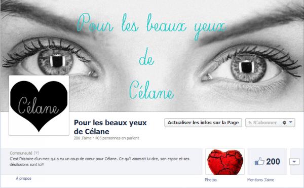 Pour les beaux yeux de Célane