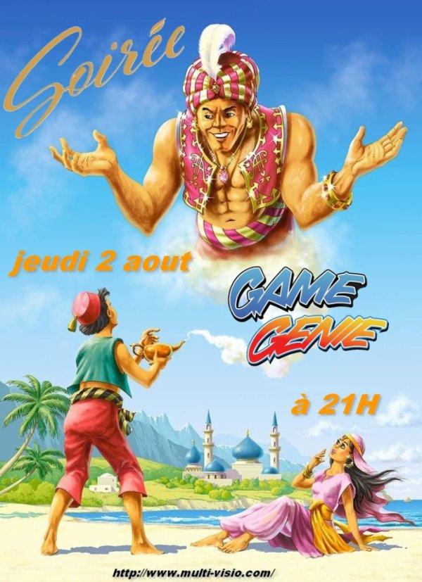 Soirée Game Genie