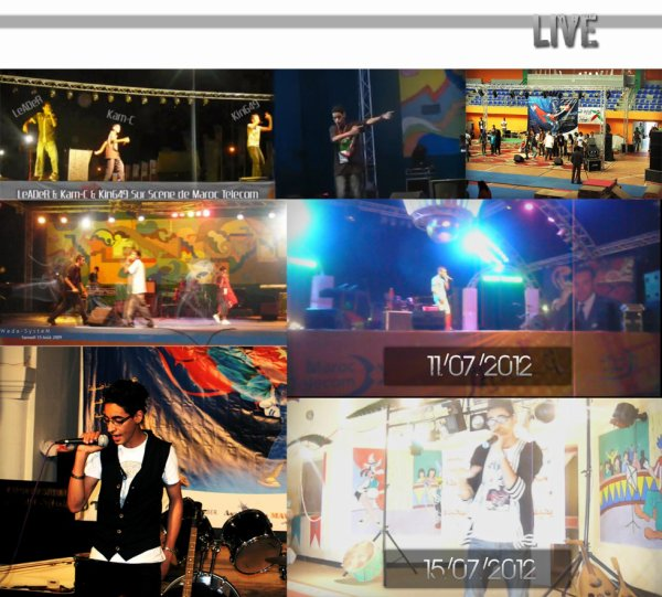 Live Sur Scene 2010-2012