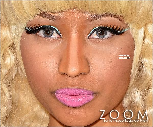 02/12/11 : Nicki Minaj à la 6ème éditon des « Billboard Women In Music Awards » à New York.Nicki, déguisée en princesse pour l'occasion a reçu le prix de la star montante de la musique.