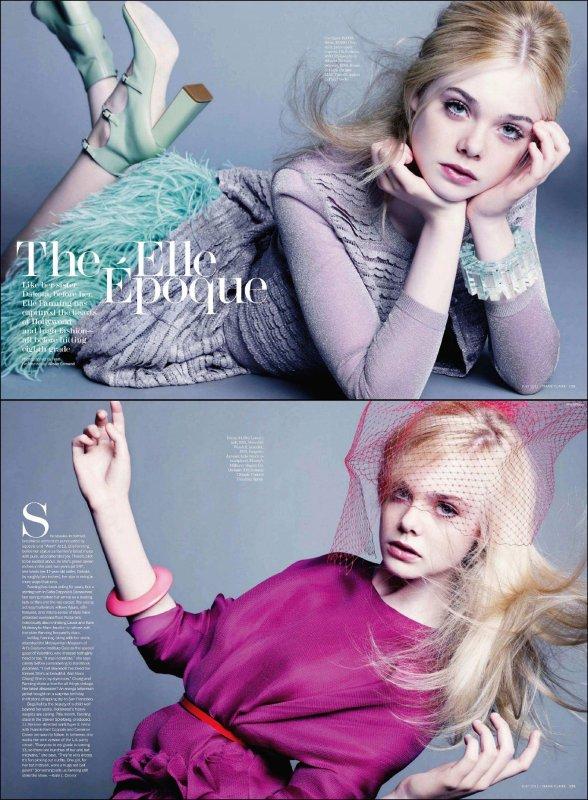 Photoshoot pour le magazine Marie Claire !