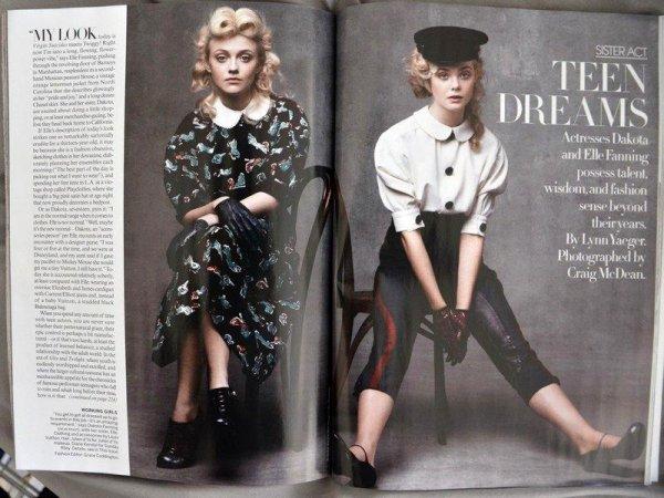 Vogue, août 2011 !