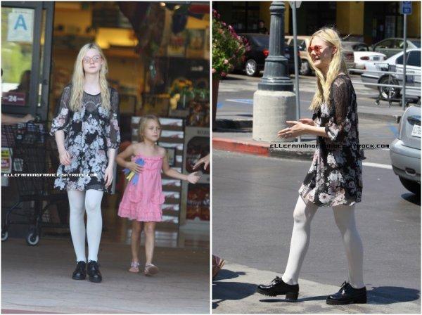 26 Juillet : Elle est allée au Grocery Shop avec sa Maman et sa petite soeur !