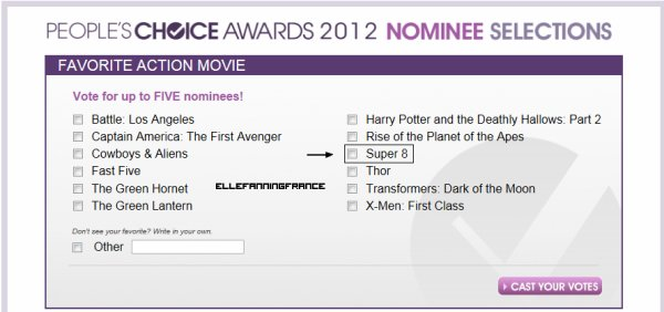 People's Choice Awards !