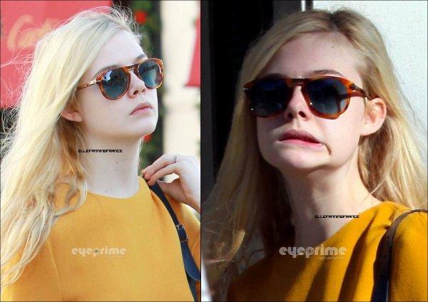 26 Décembre : Elle a été apperçue se promenant dans les rues Los Angeles !