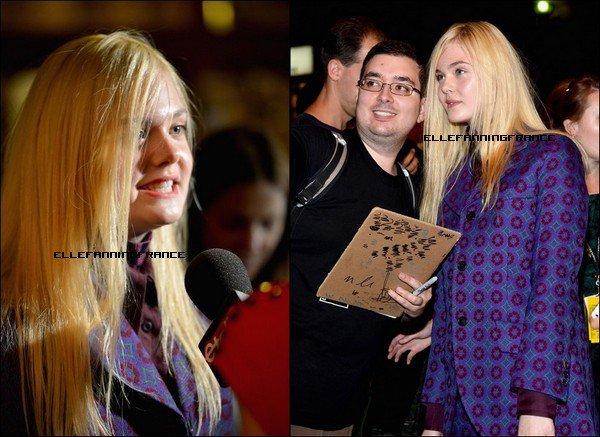 """07 Septembre : Elle était à l'avant-première de son nouveau film """"Ginger et Rosa"""" Au Festival International du Film de Toronto (TIFF) à Toronto !"""