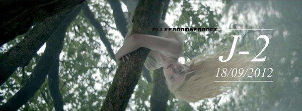 J-2 pour la vidéo de la promotion du parfum Lolita Lempicka avec Elle !