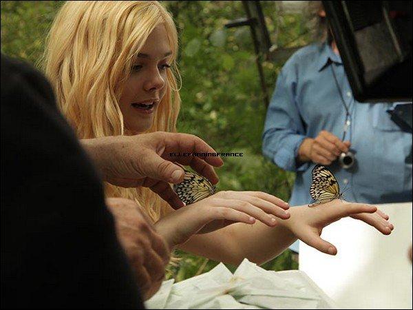 """Voici les photos bonus du clip du """"Premier Parfum"""" de L. Lempicka avec Elle !"""