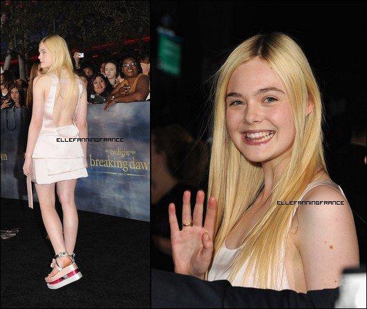 12 Novembre : Elle était à l'avant-première de Breaking Dawn Part 2 au Nokia Theatre de Los Angeles !