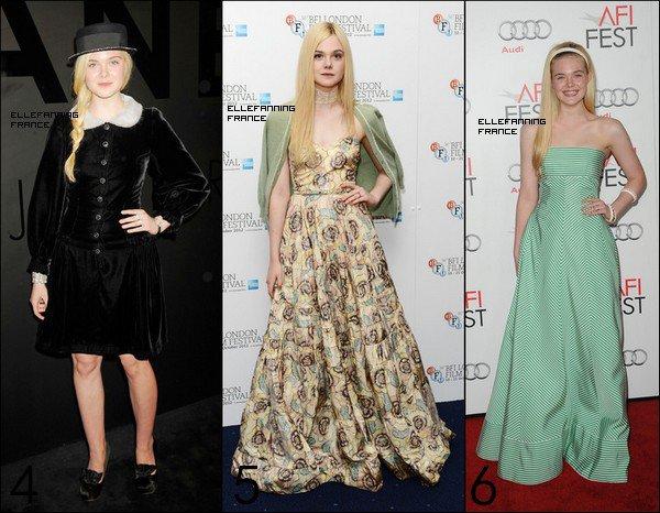Vote pour la plus belle tenue d'Elle lors d'avant-premières ou cérémonies diverses de cette année !