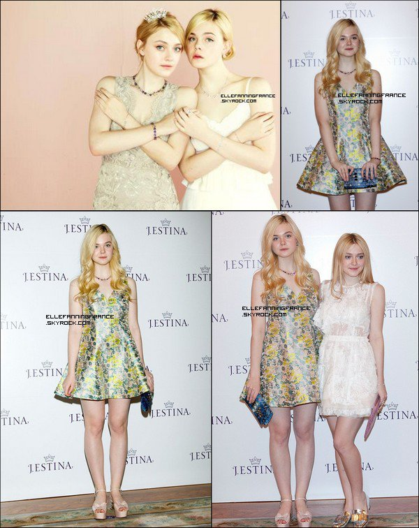 07 Janvier : Elle & Dakota ont assisté à l'évènement promotionnel de la campagne J. Estina SS 2013 au Shilla Hotel à Séoul en Corée du Sud ! ( + nouvelles photo du photoshoot pour la marque J. Estina) !