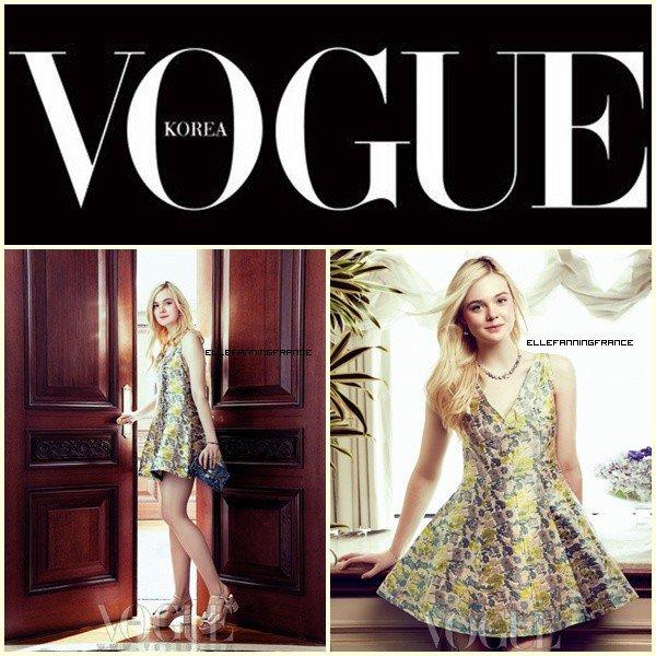 Vogue Coréen + nouveau projet pour Elle !
