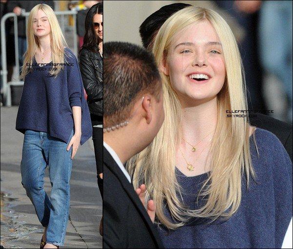 """20 Mars : Elle arrivant au studio pour le """"Jimmy Kimmel Live"""" !"""