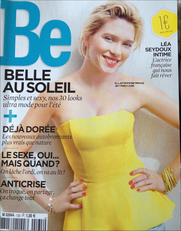 """""""Ginger et Rosa"""" dans le magazine """"BE"""" du mois de juin !"""