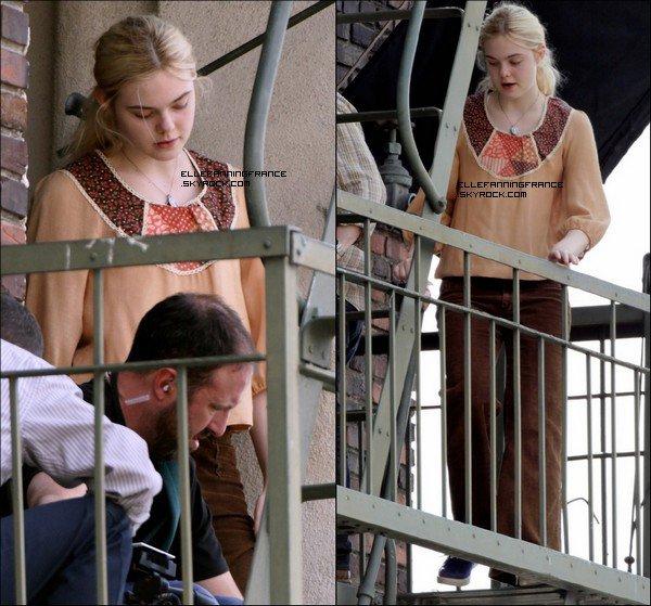 """09 Mai : Elle a été aperçue sur le set de son nouveau film """"Low Down"""" à Los Angeles !"""