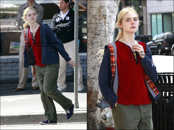 """28 Mai : Elle sur le set de """"Low Down"""" à Los Angeles !"""