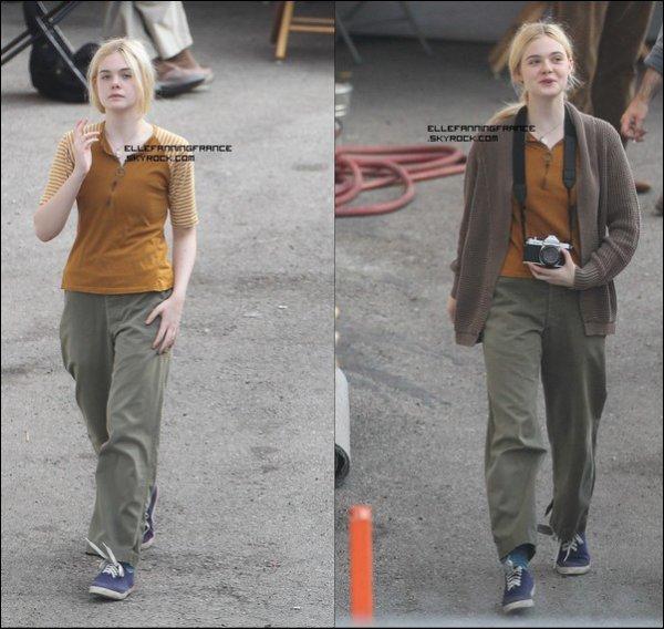 """Voici les différentes tenues d'Elle sur le tournage de """"Low Down"""" !"""
