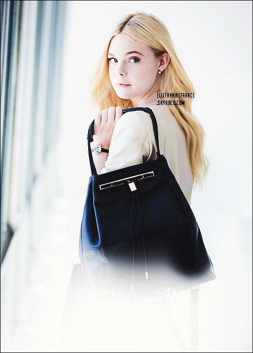 Voici de nouvelles photos d'Elle pour la marque J. Estina !