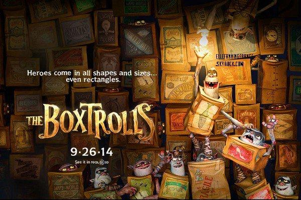 """Teaser de """"The Boxtrolls"""", film d'animation avec la voix d'Elle !"""