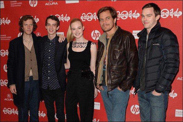 """18 Janvier : Elle était à l'avant première de """"Young Ones"""" pendant l'édition 2014 du Sundance Film Festival au Eccles Center Theatre à Park City, dans l'Utah !"""