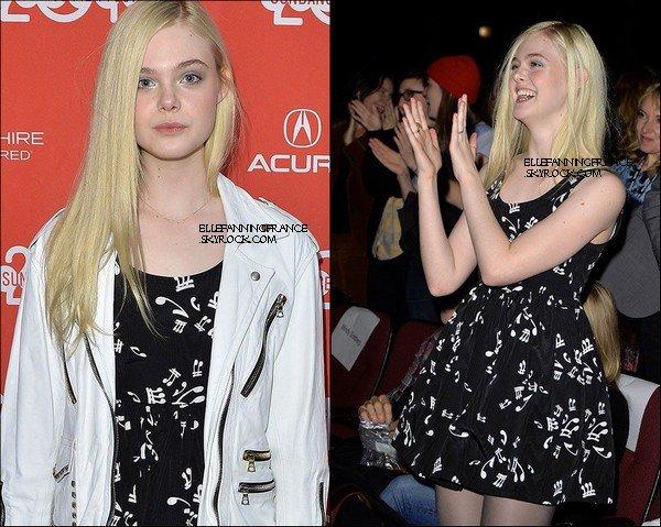 """19 Janvier : Elle était à l'avant-première de son film """"Low Down"""" lors du Sundance Film Festival 2014 !"""