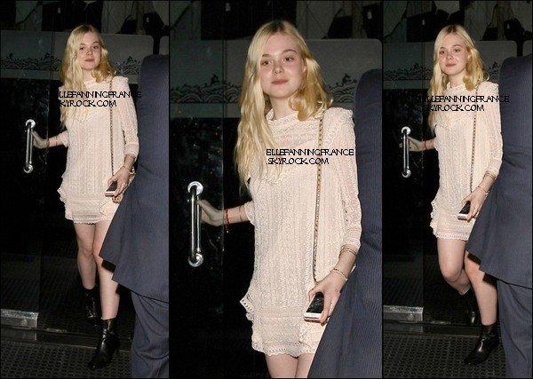 27 Février : Elle est allée dîner au restaurant Mr Chow à Beverly Hills !