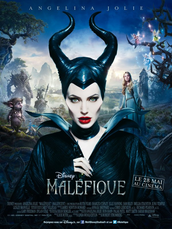 Maléfique sort le 28 mai au cinéma ! Voici l'affiche et la bande annonce en français !