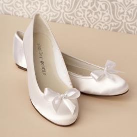 Splendid Ballet Wedding Shoes 2012