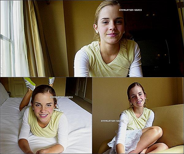 .    Un photoshoot inconnue de Emma datant de quelques années . _ Tu aimes ?.