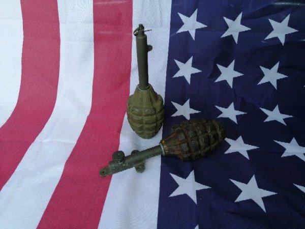 Grenade mk2 piege