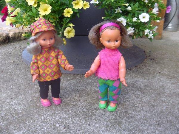 Les Minichou profitent de l'été indien