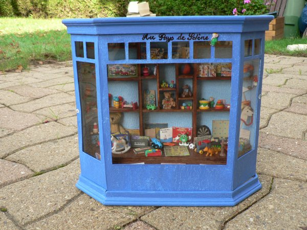 Mes activités créatives - vitrines miniatures