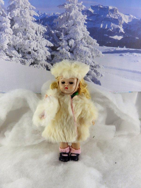 Ginny profite elle aussi de la neige