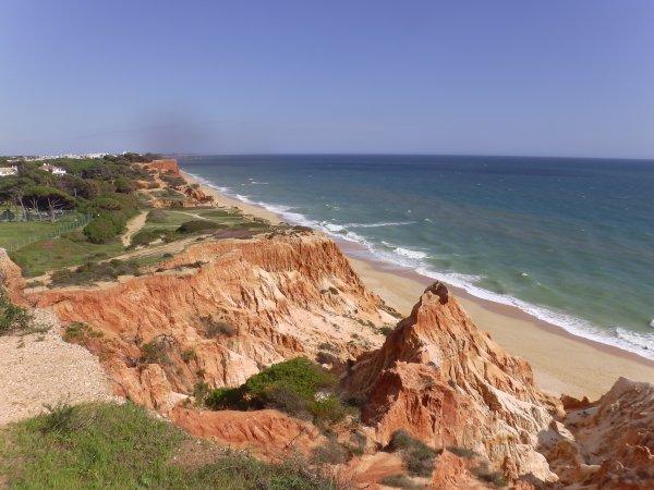 Portugal jour 1 - Albufeira  - Praia de Falésia