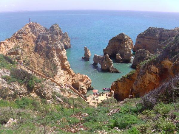 Portugal Jour 3 - Lagos - Ponta de Piedade suite et fin