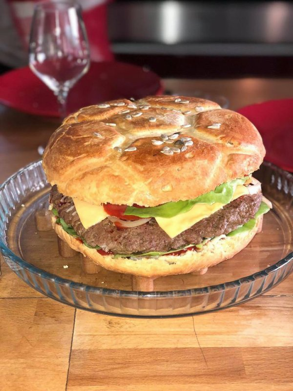 Le hamburger XXL