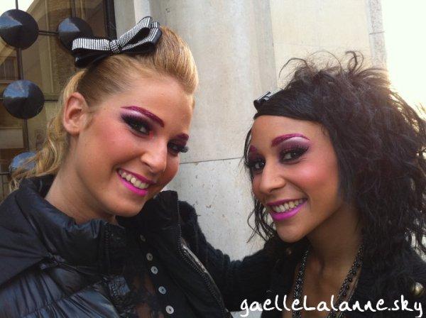 Emilie Nave et Gaelle