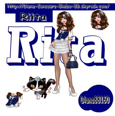 Concours n°1 : bustier rita