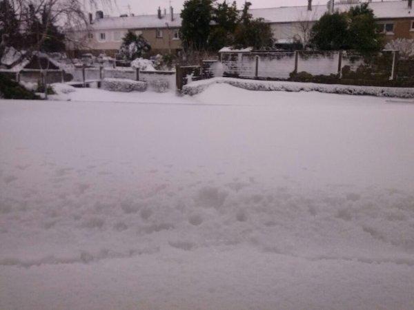 la tempete de neige