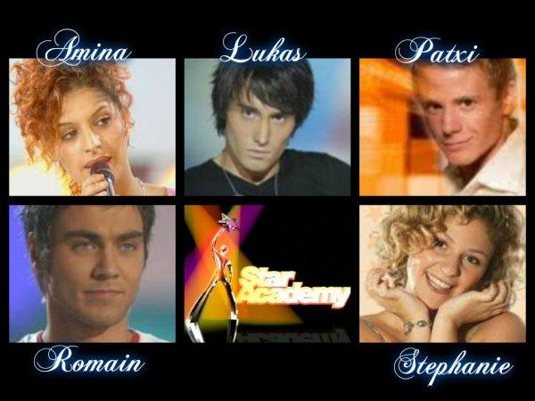 Semaine 8 : Amina / Lukas / Patxi / Romain / Stéphanie