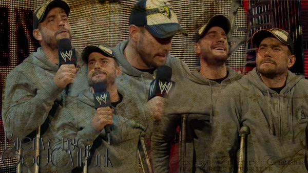 Bienvenue ★ The Best In The World, The Cult Of Personality, The Voices Of Voiceless, The God ! Tout ces mots appartiennent à une seul personne : CM Punk. ★