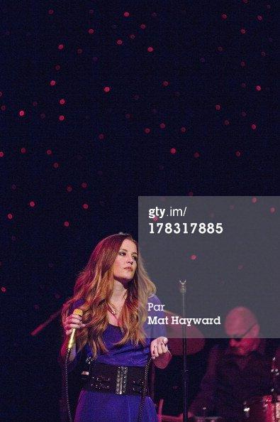 Lisa Marie Presley se produit au Théâtre Triple Door