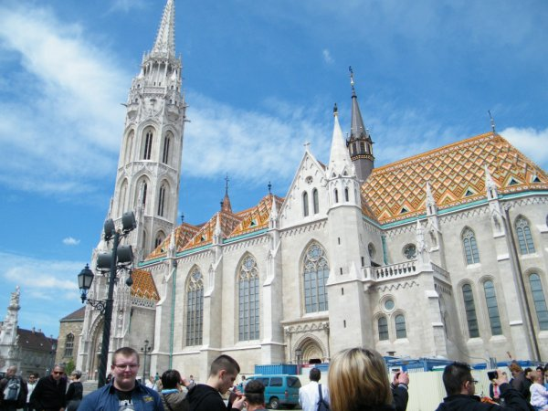 la cathédrale de budapest