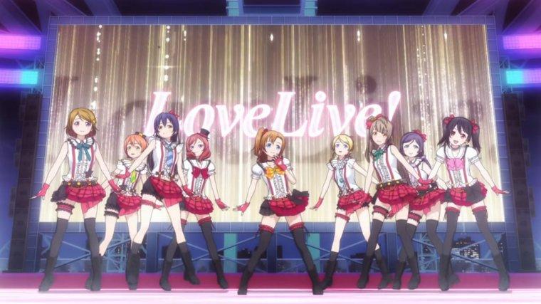 "Mon Projet ""Love live Idol"""